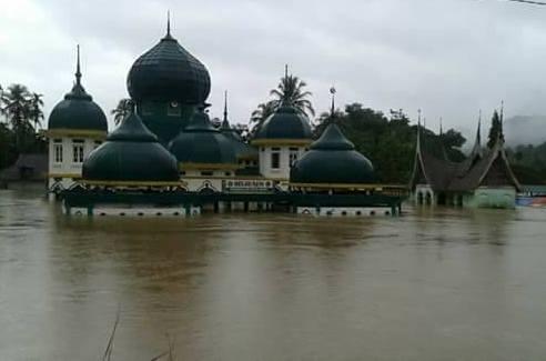 Update Informasi Bencana Banjir dan Longsor di Kabupaten Lima Puluh Kota Tahun 2017 (Data Rabu 8 Maret 2017)