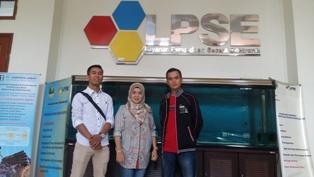 kunjungan kerja peserta Bimtek ke LPSE Provinsi Jawa Barat