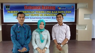 Bimtek LPSE di Telkom Learning Center Bandung