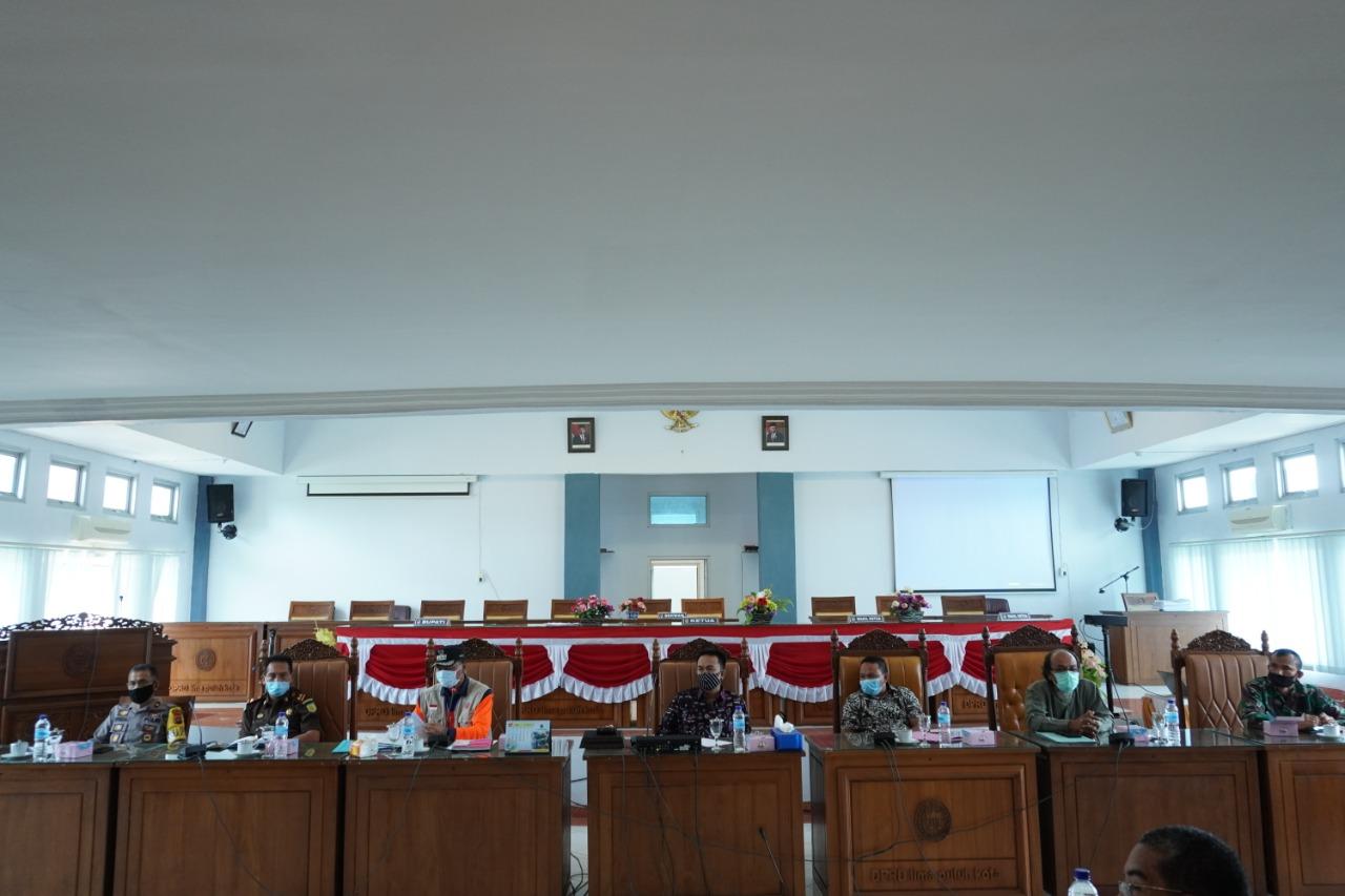 DPRD Adakan Rapat Gugus Tugas Penanganan Covid-19