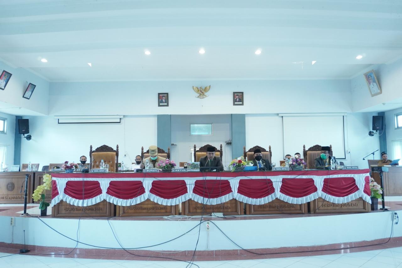 DPRD Kabupaten Lima Puluh Kota Laksanakan Rapat Paripurna DPRD
