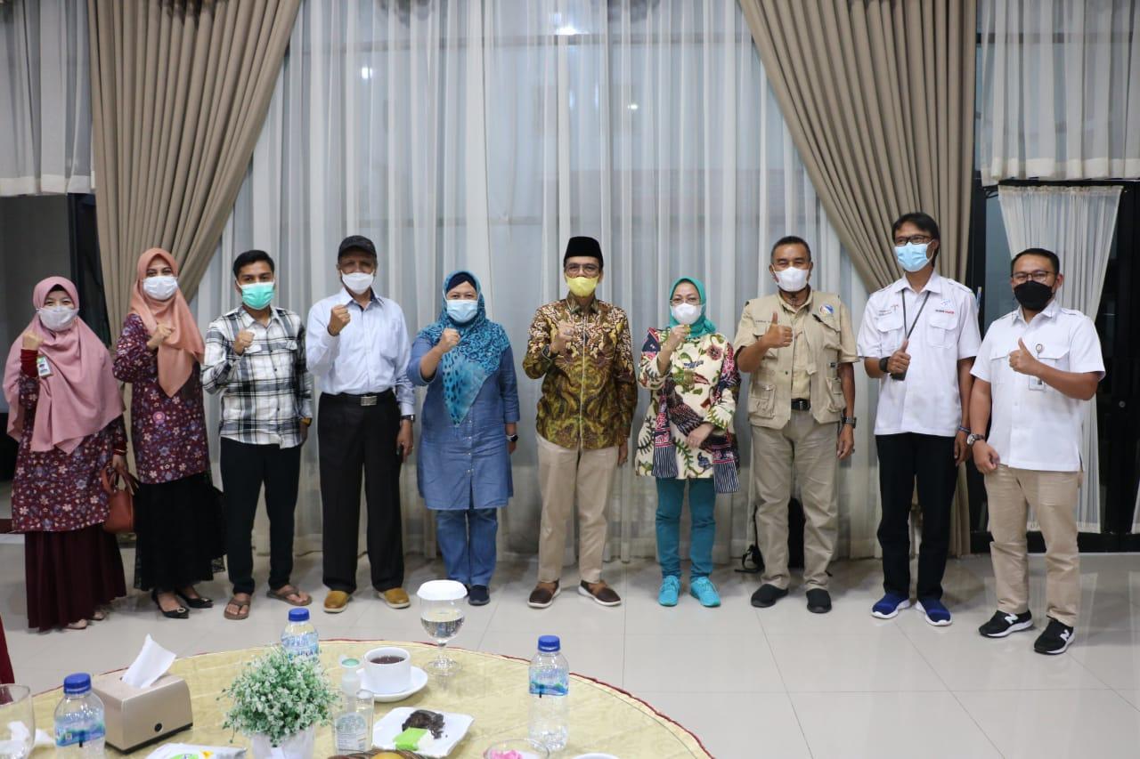 Majukan Pertanian Gambir, Bupati Safaruddin Dt. Bandaro Rajo Undang Deputi Bidang Koordinasi Pangan dan Agribisnis