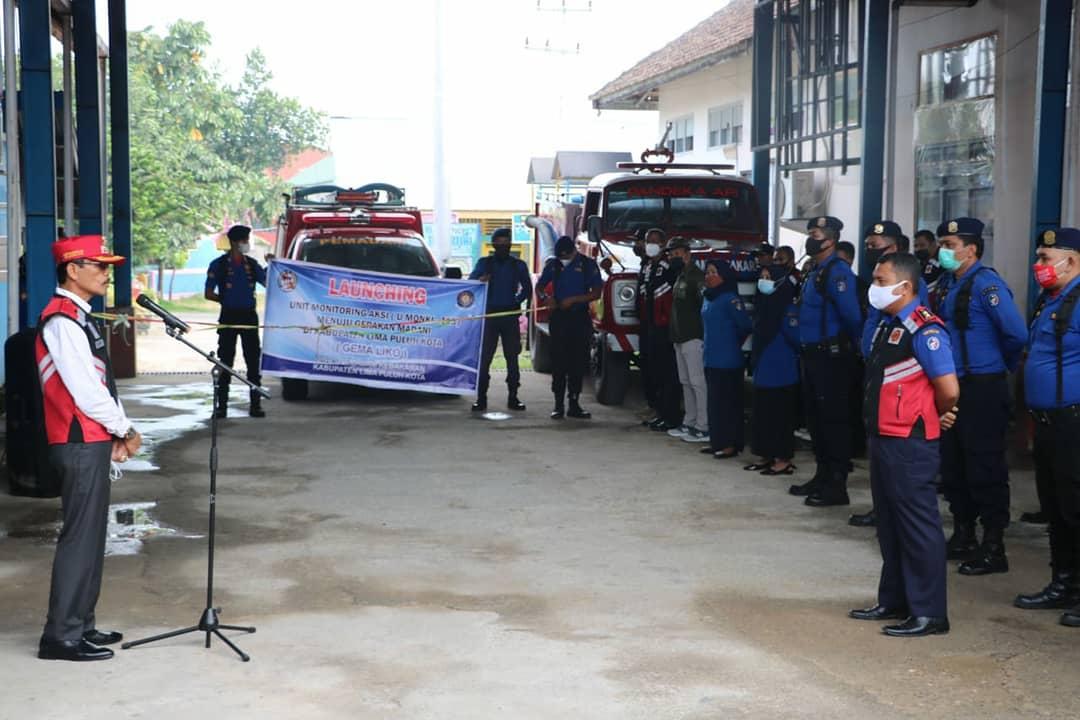 Launching Unit Monitoring dan Aksi (U-MONKI 113), Bupati Safaruddin Dt. Bandaro Rajo Apresiasi Damkar Lima Puluh Kota