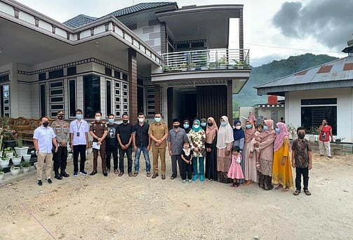 Wabup Lima Puluh Kota Rizki Kurniawan Nakasri menyambut Deputi II Kemenko Perekonomian dan Waaslog AD