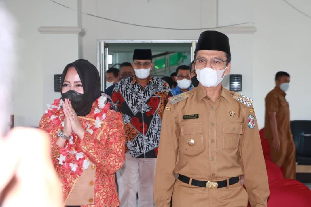 Tingkatkan Speed Pembangunan, Bupati Safaruddin Dt. Bandaro Rajo Kolaborasi Dengan Anggota DPR RI Rezka Oktoberia